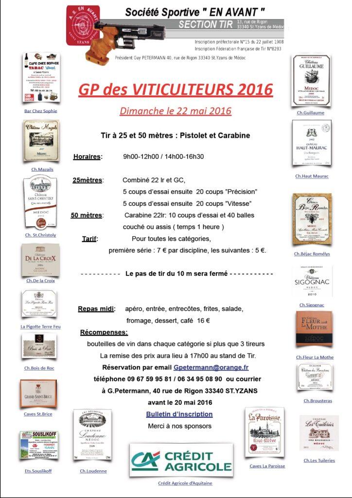 Viticulteurs 2016